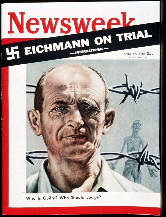 the fundamental flaws in the trial of adolf eichmann in the book eichmann in jerusalem by hannah are This book, eichmann in jerusalem has to be the book to read on the subject the book tells the story of adolph eichmann's trial in jersusalem for crimes committed in the holocaust during wwii this is a trial for a person who personally did not kill one jew.