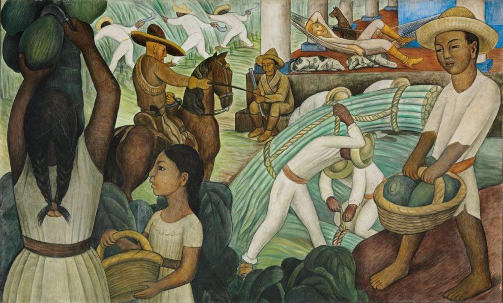 Diego Rivera, Sugar Cane, 1931
