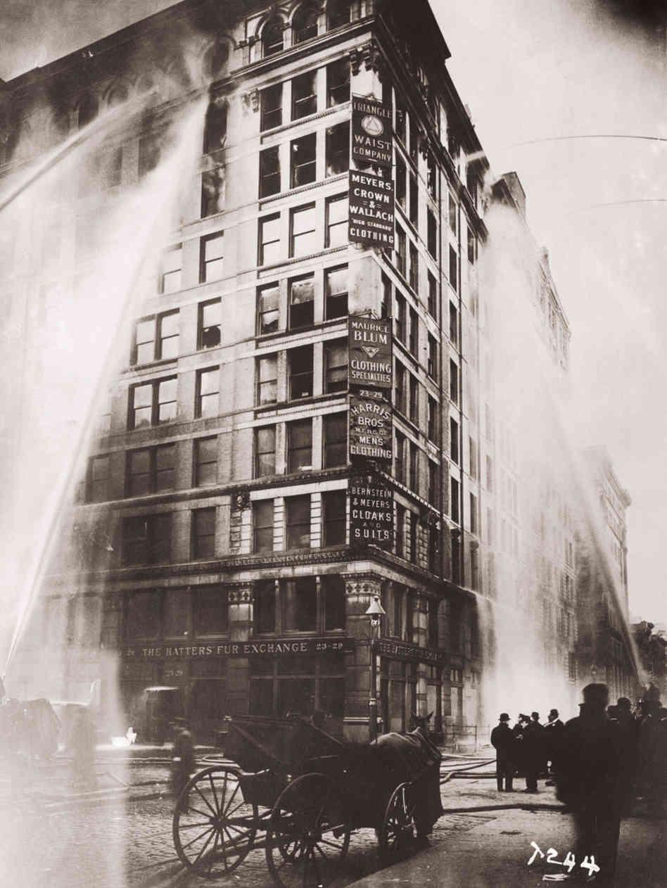 "#LaborTalks: ""Remembering the Triangle Shirtwaist Factory ... Triangle Shirtwaist Fire 1912"